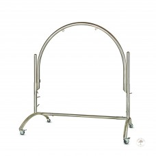 "Single Arched Stainless Steel Gong Stand  up to 60""/150cm Gong"