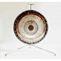 "Single Travel Stainless Steel Gong Stand up to 42""/105cm Gong"