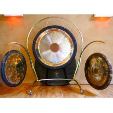 Arched Triple Gong Stand for 105cm and two 80cm gongs