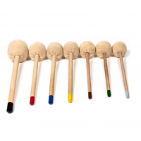Gong Mallets- Professional Wooden Long-  WM2 &  WM3