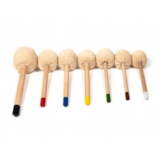 Gong Mallets- Professional Wooden Short-  WM2 &  WM3