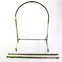 Single to Double Arched Gong Stand up to 42''/105cm & 32''/80cm Gongs