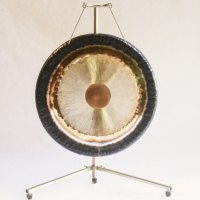 Single Telescopic Gong Stand up to 36''/90cm Gong